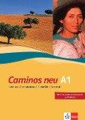 Caminos A1. Neue Ausgabe. Lehr- und Arbeitsbuch mit 3 Audio-CDs -