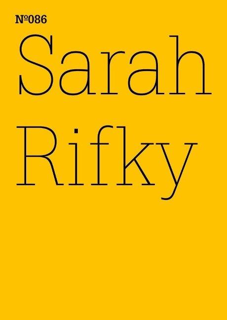 Sarah Rifky -