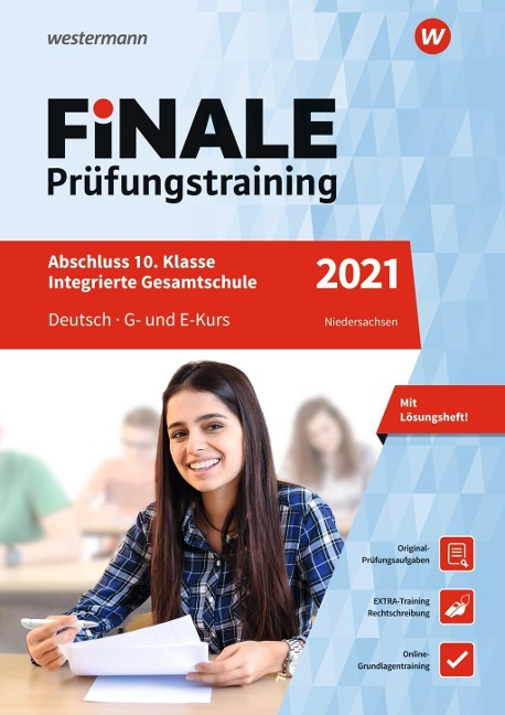 FiNALE Prüfungstraining 2021 Abschluss Integrierte Gesamtschule Niedersachsen. Deutsch - Ines Thomas, Jelko Peters