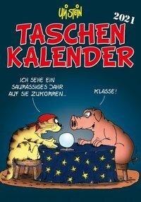 Uli Stein Taschenkalender 2021 Terminplaner - Uli Stein