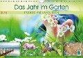 Das Jahr im Garten: Freude am Landleben (Wandkalender 2018 DIN A4 quer) Dieser erfolgreiche Kalender wurde dieses Jahr mit gleichen Bildern und aktualisiertem Kalendarium wiederveröffentlicht. - K. A. Calvendo