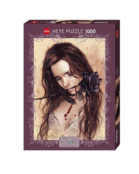 Dark Rose. Puzzle1000 Teile - Victoria Francés