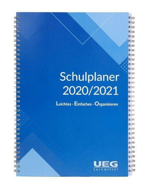 Lehrerkalender-Schulplaner LEO 2020-2021 DIN A5 - Udo Egermeier