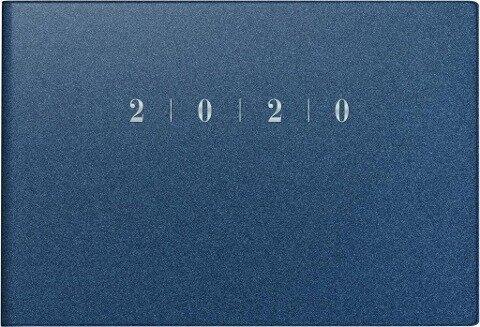 rido Taschenkalender 2020 Septimus Reflection blau -