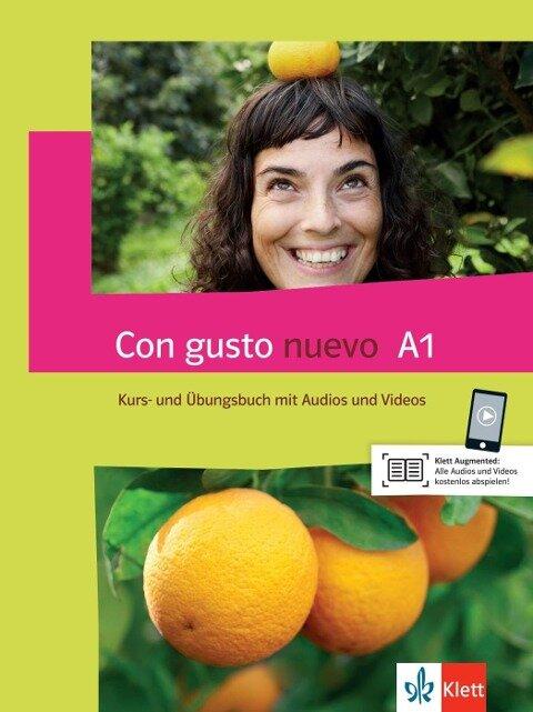 Con gusto nuevo A1. Kurs- und Übungsbuch + MP3-CD + DVD -