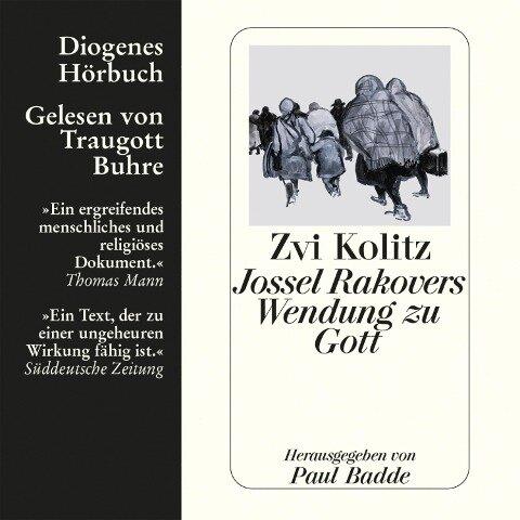 Jossel Rakovers Wendung zu Gott - Zvi Kolitz