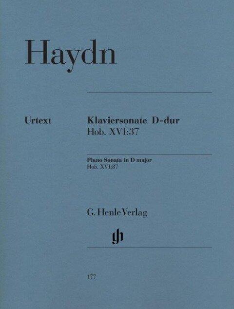 Klaviersonate D-dur Hob. XVI:37 - Joseph Haydn