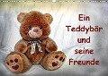 Ein Teddybär und seine Freunde (Wandkalender 2018 DIN A3 quer) - Jennifer Chrystal