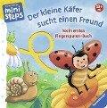 Mein erstes Fingerspuren-Buch: Der kleine Käfer sucht einen Freund - Daniela Prusse
