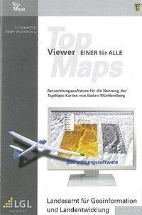 """Baden-Württemberg DVD-ROM TopMaps-Viewer """"Einer für Alle"""" -"""