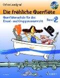 Die fröhliche Querflöte Band 2 mit CD - Gefion Landgraf