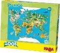 Puzzle Weltkarte. 100 Teile XXL -