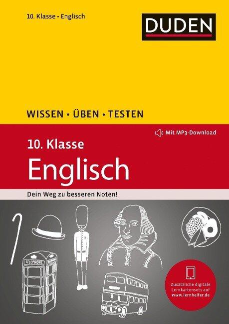 Wissen - Üben - Testen: Englisch 10. Klasse - Anja Steinhauer, Annette Schomber