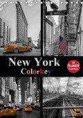 New York Colorkey (Tischkalender 2019 DIN A5 hoch) - Carina Buchspies