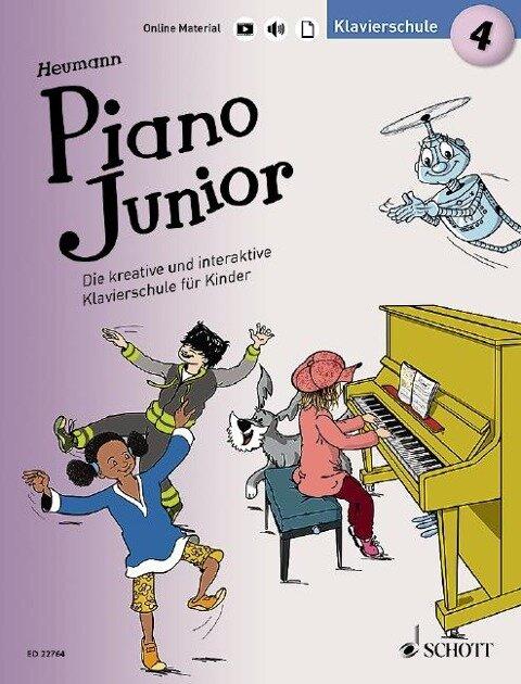Piano Junior: Klavierschule 4 - Hans-Günter Heumann