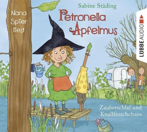 Petronella Apfelmus 02 - Zauberschlaf und Knallfroschchaos - Sabine Städing, Sebastian Danysz