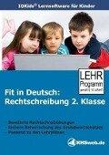 Fit in Deutsch: Rechtschreibung. 2. Klasse. CD-ROM für Windows 95/98/NT/Me/2000/XP -