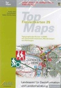 Baden-Württemberg. DVD-ROM TopMaps F25. Kartendaten zum Viewer -