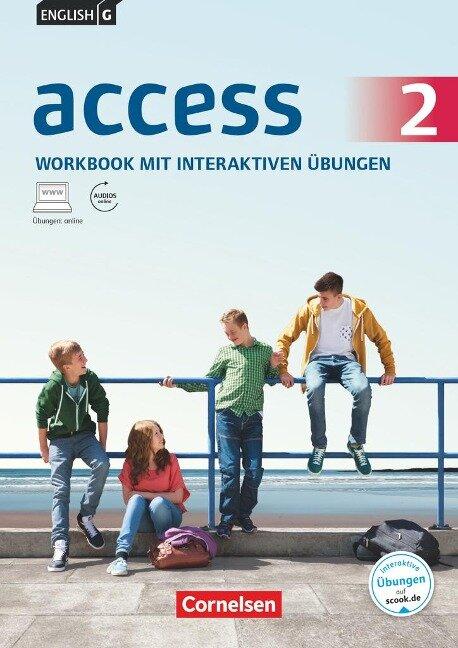 English G Access 02: 6. Schuljahr. Workbook mit interaktiven Übungen auf scook.de. Allgemeine Ausgabe - Jennifer Seidl