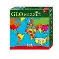 Geo Puzzle - Welt -