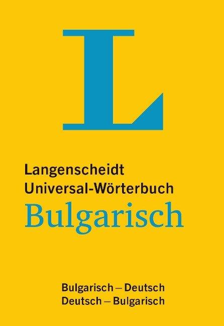 Langenscheidt Universal-Wörterbuch Bulgarisch - mit Tipps für die Reise -