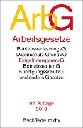 Arbeitsgesetze (ArbG) -