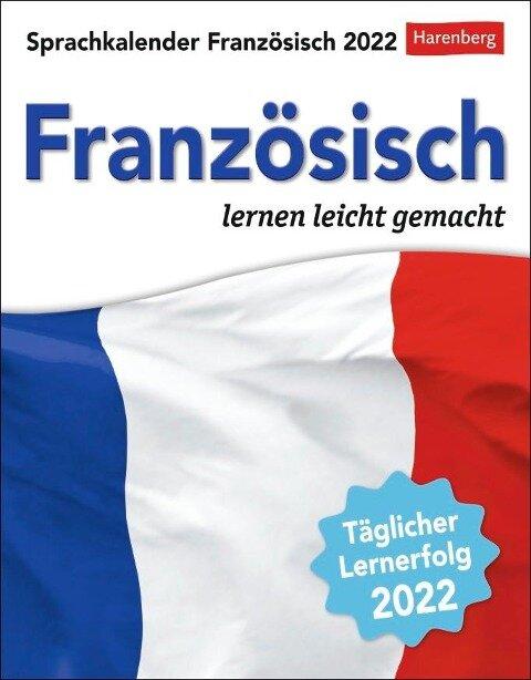 Sprachkalender Französisch 2022 - Juliane Regler, Steffen Butz
