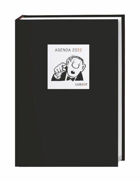 Loriot Agenda A5 - Buchkalender 2022 - Loriot
