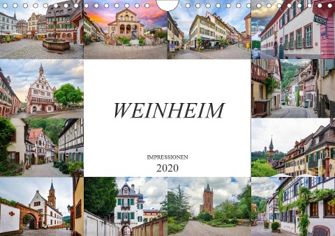 Weinheim Impressionen (Wandkalender 2020 DIN A4 quer) - Dirk Meutzner