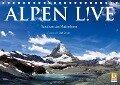 Alpen live - Rund um das Matterhorn (Tischkalender 2019 DIN A5 quer) - Olaf Bruhn