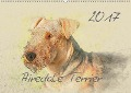 Airedale Terrier 2017 (Wandkalender 2017 DIN A2 quer) - Andrea Redecker