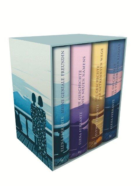 Neapolitanische Saga (4 Bände) - Elena Ferrante