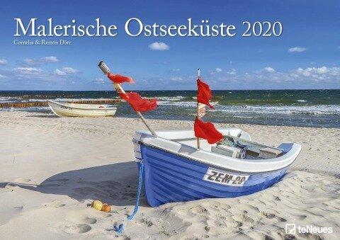 Malerische Ostseeküste 2020 Wandkalender -