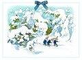 Adventskalender Zwerge im Schnee -