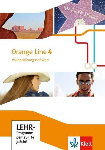 Orange Line 4. Vokabelübungssoftware. Klasse 8. Ausgabe 2014 -