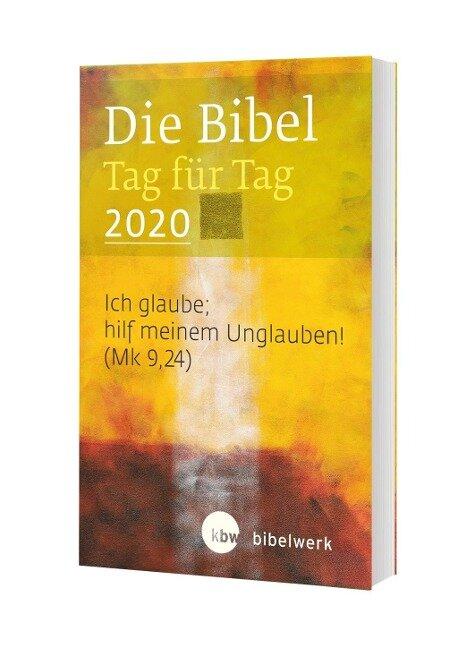 Die Bibel Tag für Tag 2020 / Taschenbuch - Fabian Brand, Hanns Sauter, Monika Gunkel, Stefan Jürgens, Jürgen Kaufmann