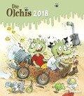 Die Olchis 2018 Wandkalender -
