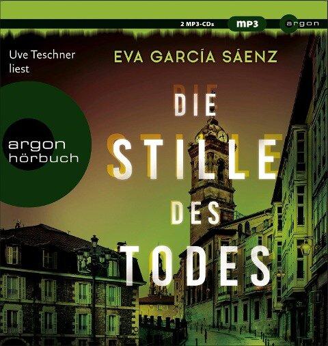 Die Stille des Todes - Eva García Sáenz