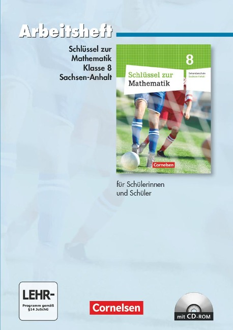 Schlüssel zur Mathematik 8. Schuljahr. Arbeitsheft. Sekundarschule Sachsen-Anhalt -
