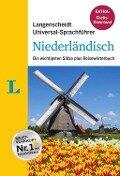 """Langenscheidt Universal-Sprachführer Niederländisch - Buch inklusive E-Book zum Thema """"Essen & Trinken"""" -"""
