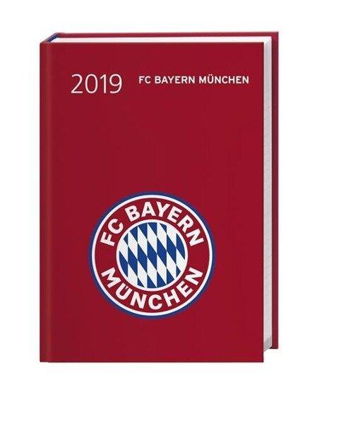 FC Bayern München 17-Monats-Kalenderbuch A6 2019 -