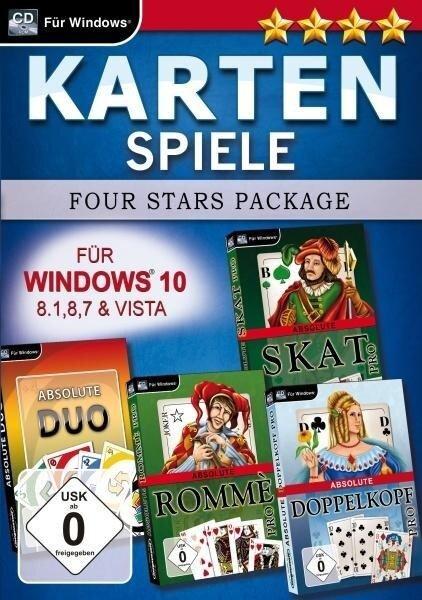 Kartenspiele Four Stars für Windows 10. Für Windows Vista/7/8/8.1/10 -