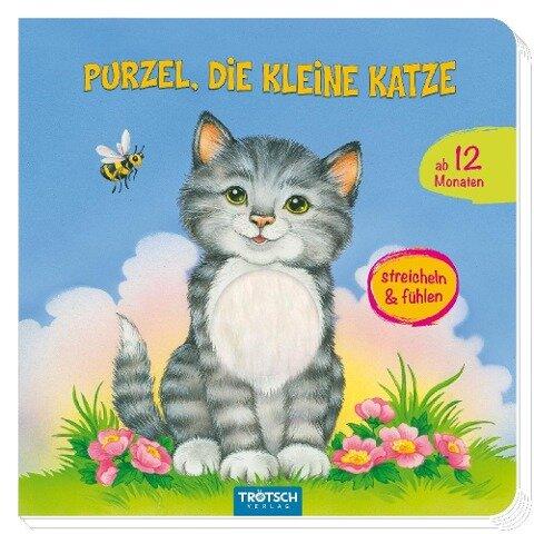 """Fühlbuch """"Purzel, die kleine Katze"""" -"""