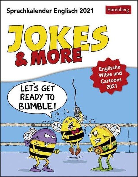 Jokes & More - Kalender 2021 - Ulrike Anders, Marty Bucella