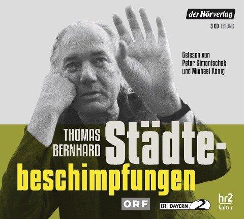 Städtebeschimpfungen - Thomas Bernhard