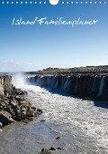 Island Familienplaner (Wandkalender 2018 DIN A4 hoch) - Andrea Koch
