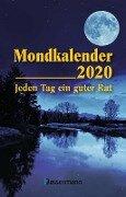Mondkalender 2020 Taschenkalender - Dorothea Hengstberger