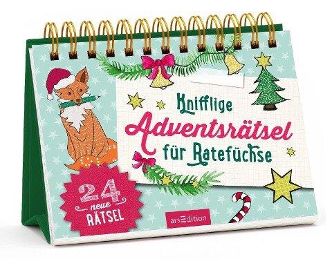 Knifflige Adventsrätsel für Ratefüchse - Norbert Golluch