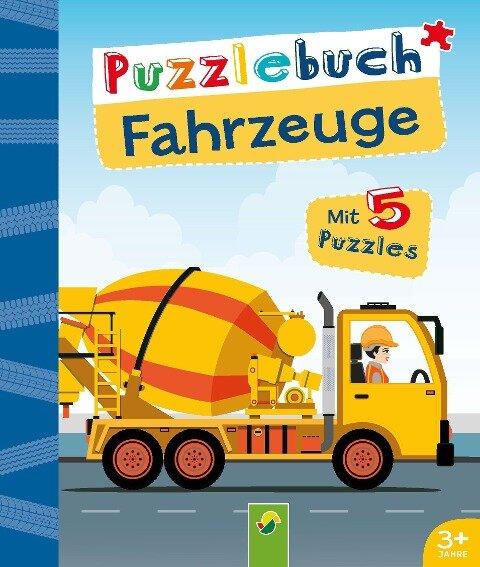 Puzzlebuch Fahrzeuge -