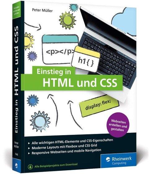 Einstieg in HTML und CSS - Peter Müller